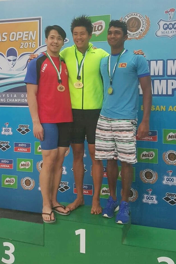 Win Tin Swimming Club - 59th Malaysia Open Championship 2