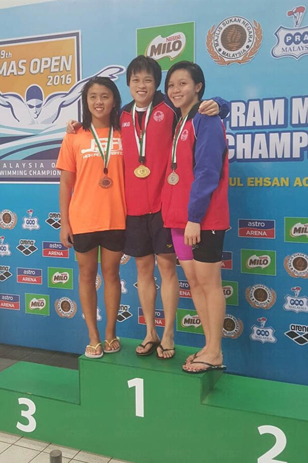 Win Tin Swimming Club - 59th Malaysia Open Championship 1