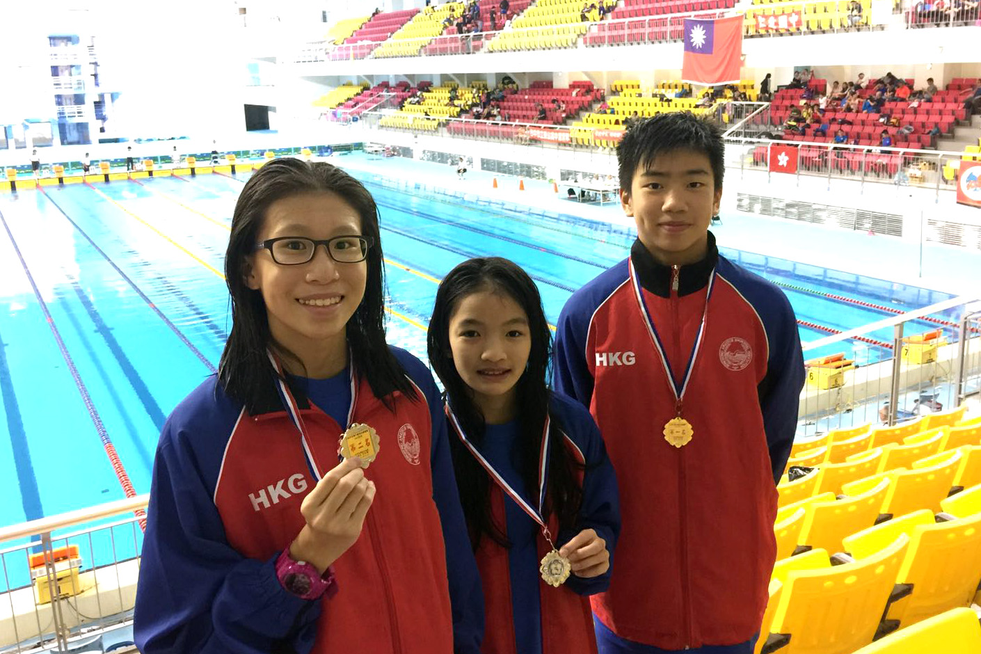 Win Tin Swimming Club - Taiwan Age Group Swimming Championships 4