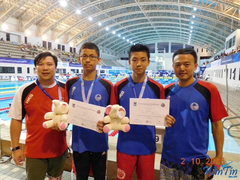 Win Tin Swimming Club - 8th Asian Age Group Champ 3