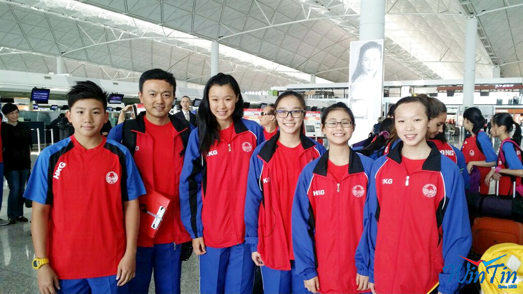 Win Tin Swimming Club - 50th Malaysia 1