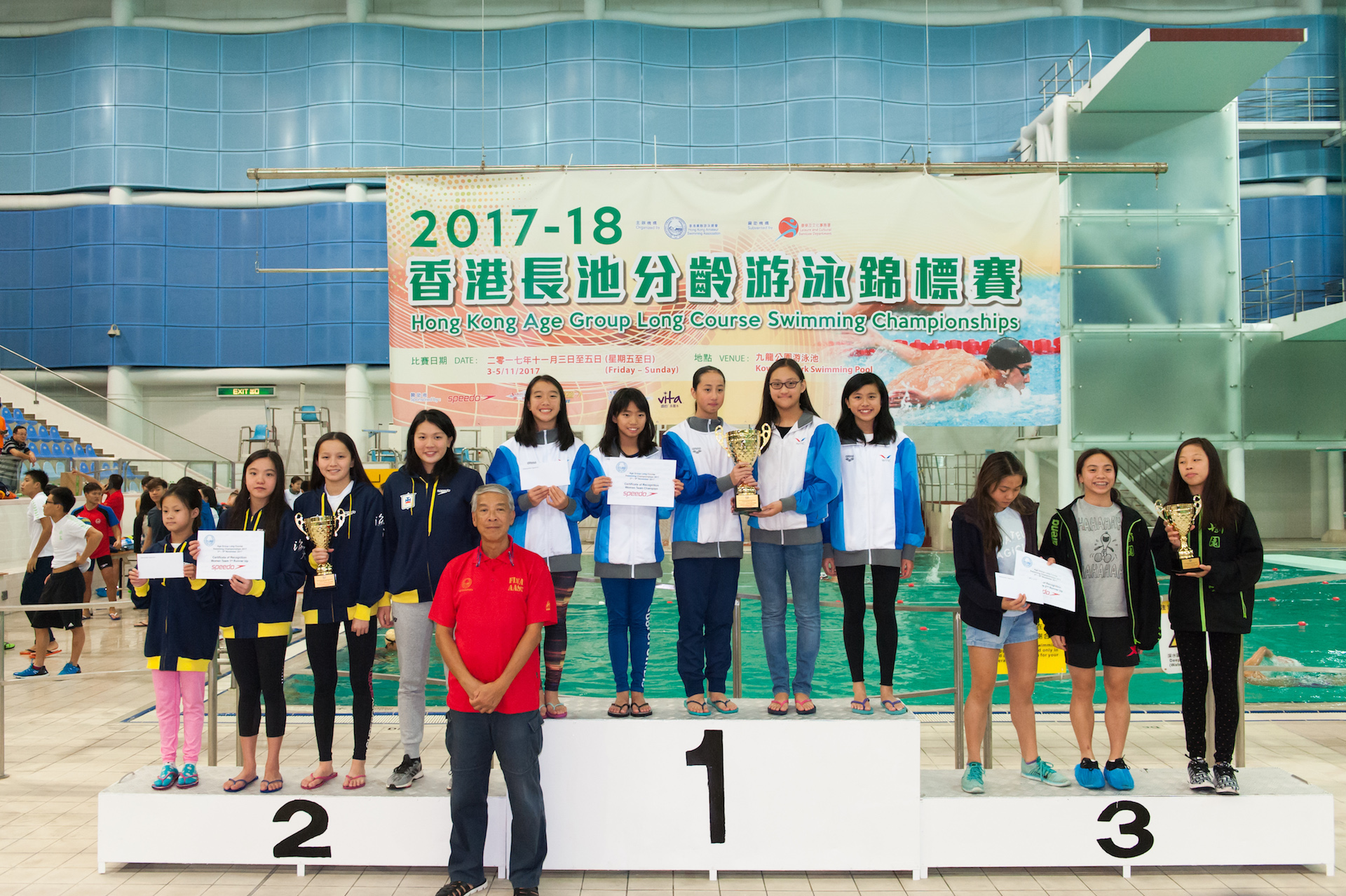 Win Tin Swimming Club - 2017 Long Course Age Group Championships 6