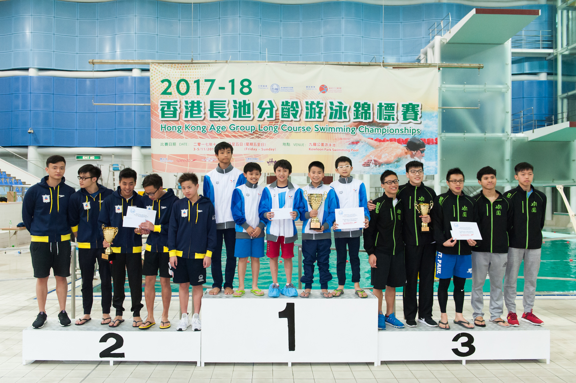 Win Tin Swimming Club - 2017 Long Course Age Group Championships 7