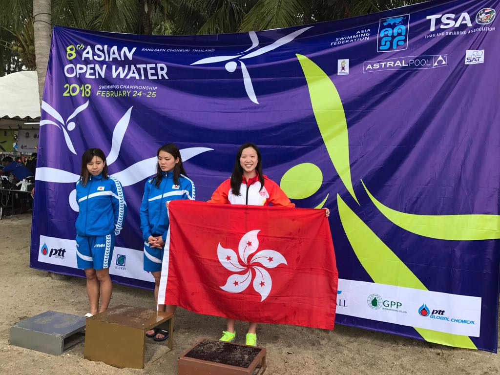 Win Tin Swimming Club - 8th Asian Open Water Championships 1