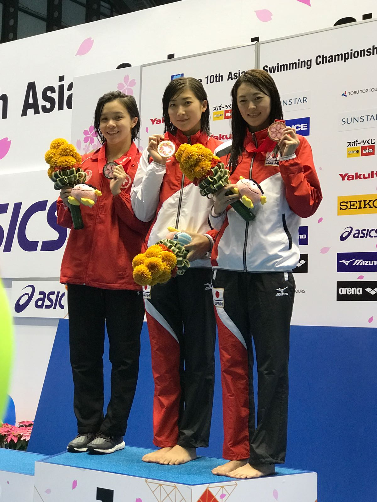 Win Tin Swimming Club - 10th Asian Swimming Championship Chan Kin Lok