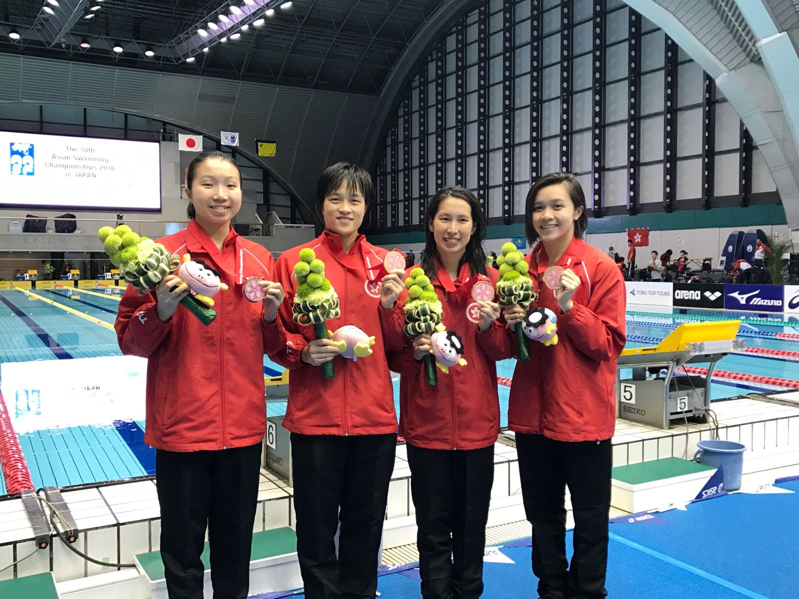 Win Tin Swimming Club - 10th Asian Swimming Championship 1