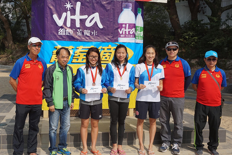 Win Tin Swimming Club - Ho Nam Wai, Chang Yu Juan, Wong Ching Lam