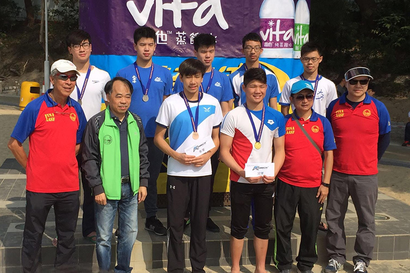 Win Tin Swimming Club - Leung Chun Hei, Lau Kam Lun