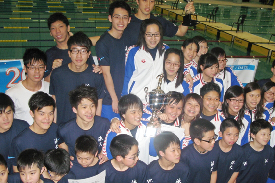 Win Tin Swimming Club - 2010 Short Champ Group Photo